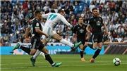 Video clip highlights bàn thắng Real Madrid 6-0 Celta Vigo: Không Ronaldo, Bale lại tỏa sáng, Real 'đánh tennis'