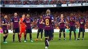 Video clip highlights bàn thắng Barcelona 1-0 Sociedad: Ngày Coutinho tặng quà chia tay Iniesta