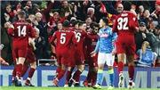 Liverpool 1-0 Napoli: Salah rực sáng, đẩy Napoli xuống chơi ở Europa League