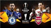Lịch thi đấu chung kết cúp C2: Trực tiếp Chelsea vs Arsenal