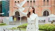 Á hậu Tường San tung cliptự giới thiệu, sẵn sàng thi Hoa hậu Quốc tế 2019