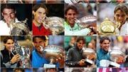 Tennis: Chiêm ngưỡng 19 khoảnh khắc vô địch Grand Slam của Nadal