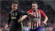 Kết quả bóng đá: Atletico Madrid đấu với Juventus (02h ngày 19/9).