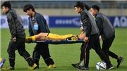 Bị cầu thủ Thái Lan đánh cùi chỏ, hậu vệ U23 Brunei phải cấp cứu ở bệnh viện