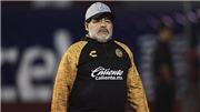 Diego Maradona tạm dừng sự nghiệp huấn luyện vì sức khỏe
