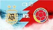 TRỰC TIẾP bóng đá Argentina vs Colombia (05h00, 16/6)