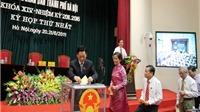 Ông Nguyễn Thế Thảo tái đắc cử Chủ tịch UBND Hà Nội