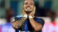 M.U chú ý: Sneijder có thể chia tay Inter vì chuyện tiền lương