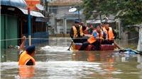 14 người thiệt mạng do mưa lũ tại Jakarta