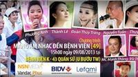 Thái Thùy Linh mang âm nhạc tới Bệnh viện K