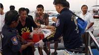 Chìm phà ở Thái Lan, 6 du khách thiệt mạng