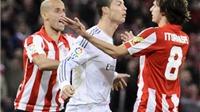 Húc đầu vào đối thủ, Cristiano Ronaldo đối mặt với án treo giò 3 trận
