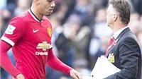 Louis van Gaal: 'Smalling thật ngu ngốc'; Pellegrini: 'Man City đã bị từ chối 3 quả phạt đền'