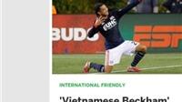Báo Mỹ gọi Lee Nguyễn là 'Beckham của Việt Nam'