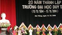 Đại học Duy Tân kỷ niệm 20 năm thành lập trường