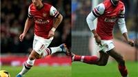Arsenal nhận hung tin về Diaby và Oezil