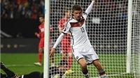Đức 4-0 Gibraltar: Sau hat-trick cho Bayern, Mueller lập tiếp cú đúp cho tuyển Đức