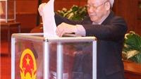 Công bố kết quả lấy phiếu tín nhiệm của Quốc hội