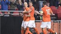 Hà Lan 6-0 Latvia: Robben và Huntelaar lập cú đúp, Van Persie tỏa sáng