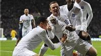 Giao hữu quốc tế: Rooney lập cú đúp, Anh thắng Scotland 3-1
