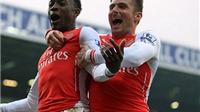 West Brom 0-1 Arsenal: Welbeck đánh đầu ghi bàn, Arsenal nhọc nhằn hạ West Brom
