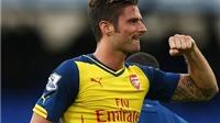 Olivier Giroud: Arsenal cần học cách 'kết liễu' đối phương