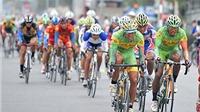 Chặng 4 cuộc đua xe đạp Xuyên Việt 2014 : Thành Tâm về Nhất trong tích tắc