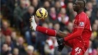 Liverpool nhận tin vui về Balotelli trước trận gặp Man United