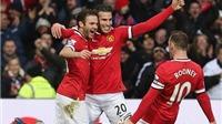 Những điểm nhấn từ trận thắng 3-0 của Man United trước Liverpool