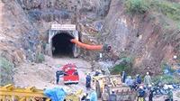Sập hầm thủy điện tại Lâm Đồng, 11 người bị mắc kẹt