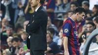 Thực hư xung quanh chuyện Messi đòi thay thế HLV Enrique