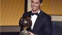 Phiếu bầu của Ronaldo hơn cả Messi và Neuer cộng lại