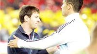 CẬP NHẬT tin tối 13/1: 'Ronaldo và Messi giúp nhau cùng tiến'. Ronaldo kêu gọi CĐV Real ủng hộ Gareth Bale