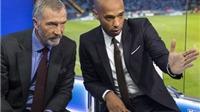 'Bình luận viên' Thierry Henry vừa chê bai Arsenal đi thụt lùi, 'Pháo thủ' thắng tưng bừng