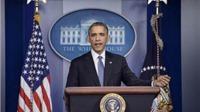 Tỷ lệ người dân ủng hộ Tổng thống Barack Obama tăng mạnh