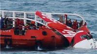 Tìm kiếm nạn nhân và máy bay QZ 8501: Chuẩn bị nâng phần thân máy bay từ đáy biển