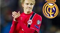 Ngày mai, Real Madrid chính thức ký hợp đồng với Martin Odegaard