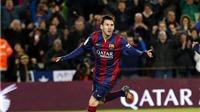 Barcelona 1-0 Atletico: Busquets ăn vạ kiếm phạt đền, Messi ghi bàn hạ Atletico