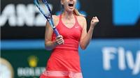 Australian Open: Sharapova dễ dàng hạ Bouchard