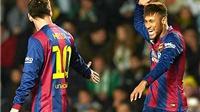 03h00, 29/01, Atletico - Barca: Barca khỏe, Messi vui nhờ 'Vitamin Neymar'
