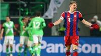 Wolfsburg 4-1 Bayern Munich: Cú SỐC đầu tiên sau mùa Đông