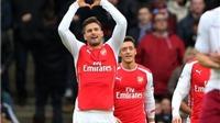 Điểm nhấn Arsenal 5-0 Aston Villa: Phản công thông minh, bùng nổ Oezil và hiệu quả Walcott