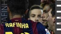 Rafinha, nhân tố chủ chốt trong cuộc ngược dòng của Barca
