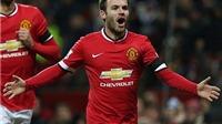 Man United 3-0 Cambridge United: Mata, Rojo và Wilson đưa 'Quỷ đỏ' vào vòng 5