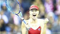 Vòng 1 Fed Cup 2015: Sharapova tỏa sáng, Nga vào bán kết