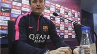 Enrique: 'Barca luôn là một tập thể vững mạnh'. Suarez: 'Tôi biết bàn thắng rồi sẽ đến'