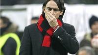 Milan trong vũng lầy khủng hoảng: Pippo Inzaghi sẽ là 'vật tế thần'?