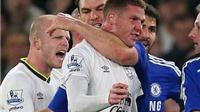 Tranh cãi trận Chelsea - Everton 1-0: Ivanovic đã cắn McCarthy và sẽ bị treo giò?