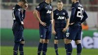 Man United thất thu vì không được dự Champions League
