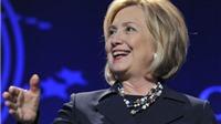 Bà Hillary Clinton sẽ đại diện đảng Dân chủ chạy đua vào ghế Tổng thống Mỹ